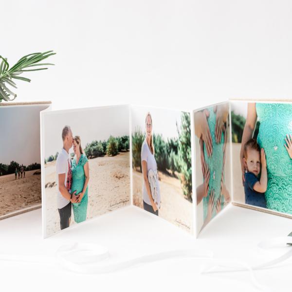 Luxe foto producten - aanbieding - harmonicaboekje - uniek cadeau